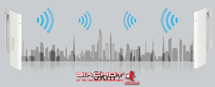 Tp-Link cpe210 Bộ thu phát wifi tầm xa ngoài trời công suất lớn